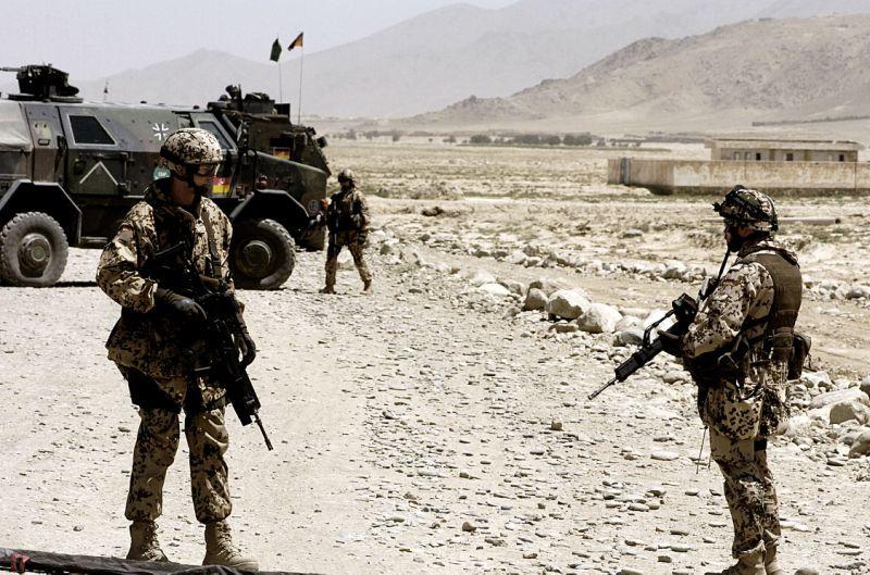 Германски войници в Афганистан