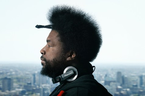 "Ahmir ""Questlove"" Thompson, The Roots, ©Deirdre O'Callaghan"