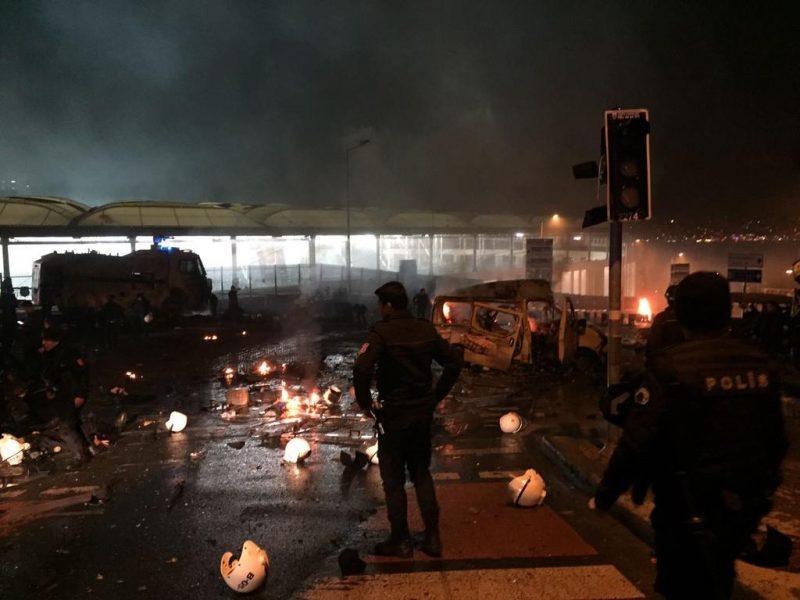 Бешикташ взрив Истанбул