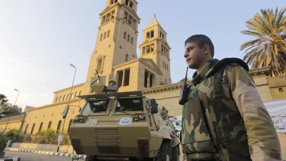 Катедралата на коптите в Кайро