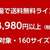 楽天市場の送料無料ラインは3980円