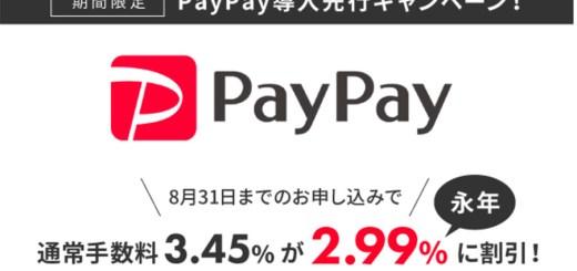 カラーミーショップの新たな決済方法として「PayPay」が2020年9月に追加!先行申込受付開始!