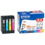 エプソンプリンター用純正インクIC4CL69 4色パックの最安値情報