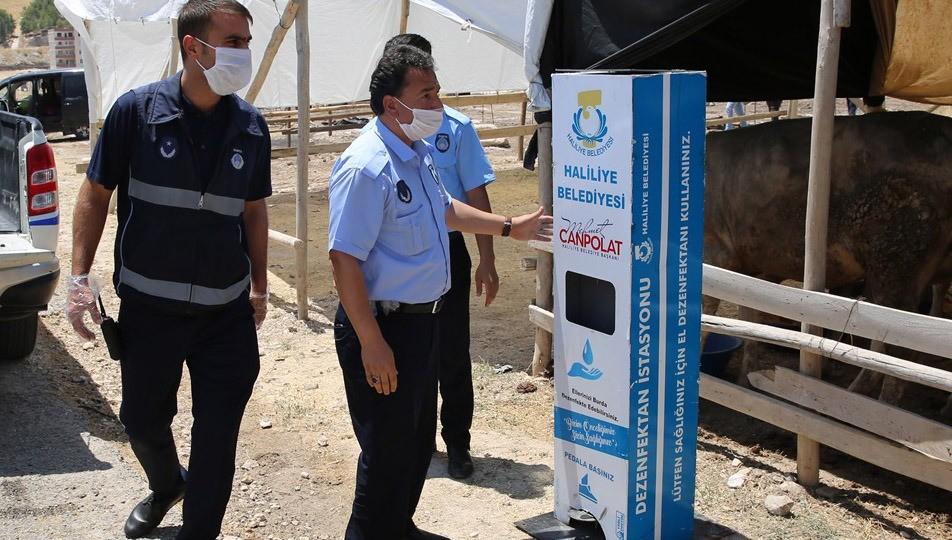 Haliliye Belediyesi Bayram denetimlerini sıkı tutuyor