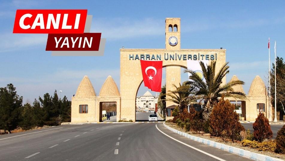 Harran üniversiteden adaylara özel canlı yayın