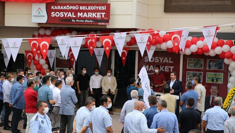 Sosyal market, Paranın geçmediği market!