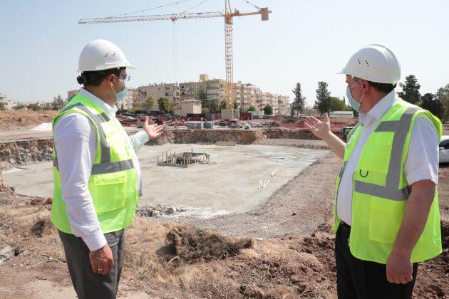 Zeynel Abidin Beyazgül'-Haliliye Belediye Başkanı Mehmet Canpolat