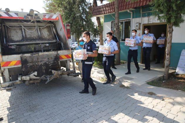 Haliliye belediyesi zabıtalar hijyen denetimi