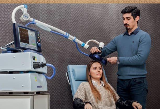 TMS (transcranial magnetic stimulation) Tedavi