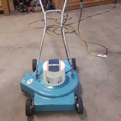 Vintage Sunbeam electric lawnmower