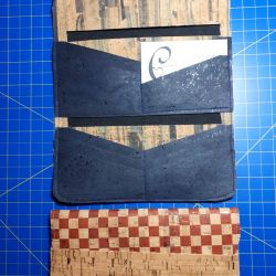 More selections of wallets and cork