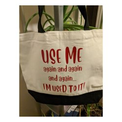 Reusable Canvas Shopping Totes