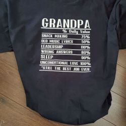 Grandpa Facts Tee