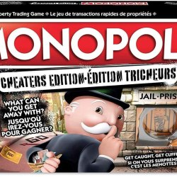 Monopoly Cheaters Edition $15.00