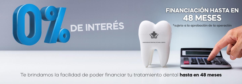 Financia tu tratamiento hasta en 48 meses