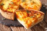 Kürbis-Quiche und Pilz-Omelette mit Hackfleisch. Gesunde Rezepte mit Vitamin B12.