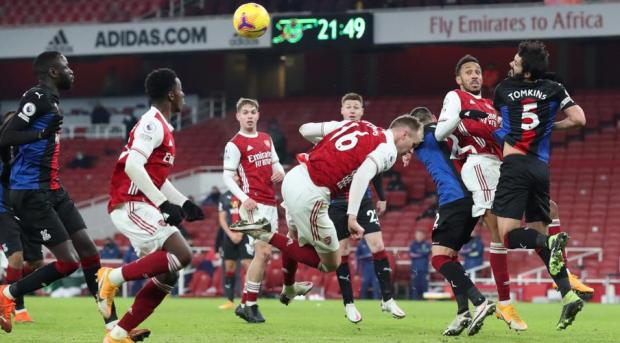 Arsenal Frustrated In Palace Draw Mikel