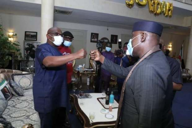 Okorocha Meets With Wike To Commission Projects