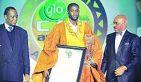 HAT-TRICK KING: Yaya Toure crowned Africa Footballer of the Year for the third time last night.