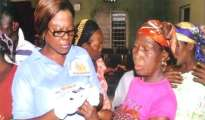 Mrs. Mercy Ekpoke, Founder, Gracelandland Diabetes Foundation providing free diabetes and hypetertension diagonism to people