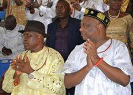 (L-R) Chief Omerhor O'tega and Chief Great Ogboru