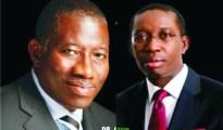 President Goodluck Jonathan and Senator Ifeanyi Okowa
