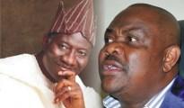 Goodluck Jonathan and Nyesom Wike