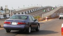 Pictures of the 120m Six-Span Flyover bridge as commissioned by Governor Emmanuel Uduaghan of Delta State