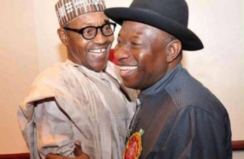 Buhari and Jonathan