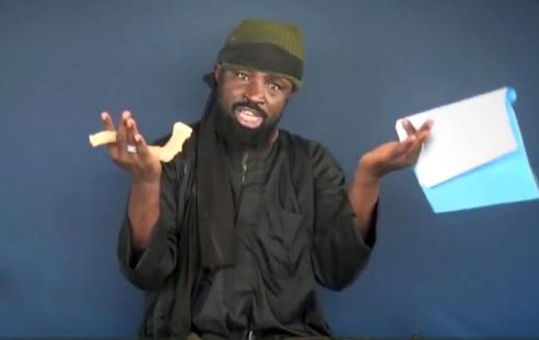 This screen grab image of Abubakar Shekau was taken on February 18, 2015 from a video made available by Islamist group Boko