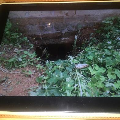 The underground tunnel