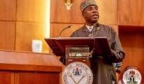 Rotimi Amaechi addressing Ssenate during Ministerial Screening