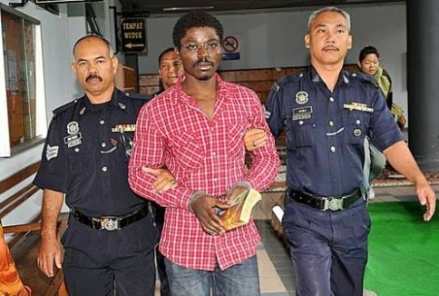 Picture: Nov 26, 2014 – Nigerian Man Sentenced To Death For Drug Trafficking In Malaysia, Abuchi Ngwoke For Execution