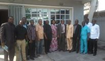 MAJAN EXCO in grop picture with President of the Lagos Shippers Council Association,  Rev. Jonathan Nicole