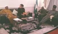 This President Muhammadu Buhari enjoying  vacation in London.....