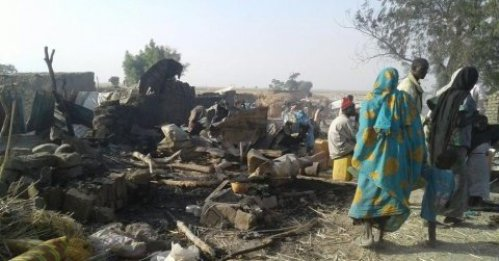 Nigerian Air Force Express Sadness Over IDP Attack
