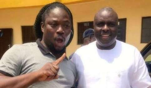Daddy Showkey Pays Homage To James Ibori