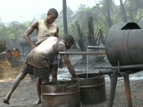 Illegal refineries