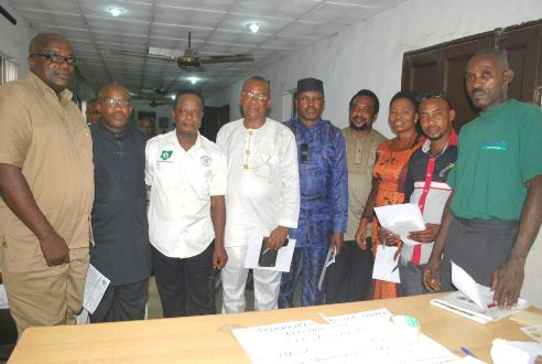 Lagos NUJ Inaugurates  EXCO of  Federated Maritime Media Chapel