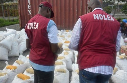 Inspector Arrested With 75 bags Of Indian Hemp Concealed In Police Bus