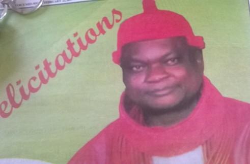 Agbon Coronation Anniversary: UPU United Kingdom President, Ganiga Felicitates With HRM Ukori 1
