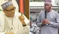 Muhammadu Buhari and Hameed Ali