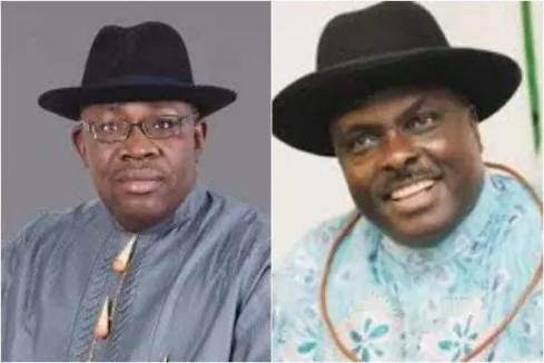 Seriake Dickson and James Ibori