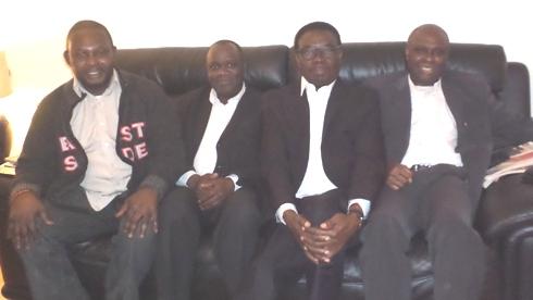 L-R- Chief Angus Omasoro, Mr Robert Onojeruo, Chief Johnson Barovbe and Mr Ese Ariemugbovwe