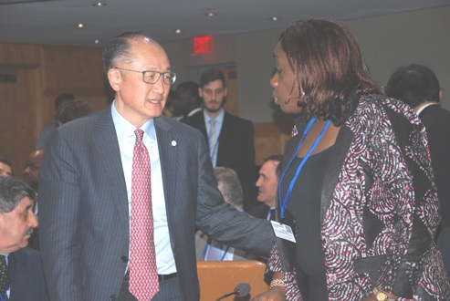 Adeosun Takes Search For Affordable Housing To World Bank Spring Meeting
