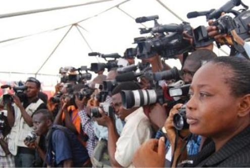 Journalists-on-protest