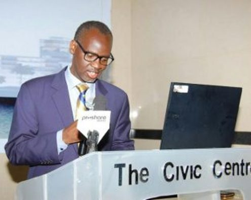 Rwandan High Commissioner to Nigeria, Ambassador Stanislas Kamanzi