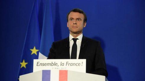 France President-Elect Emmanuel Macron