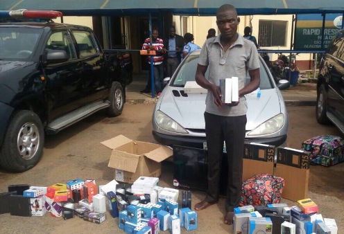 Lagos Police Arrest Slot's Driver Who Elopes From Lagos  With N6m Goods In Kaduna
