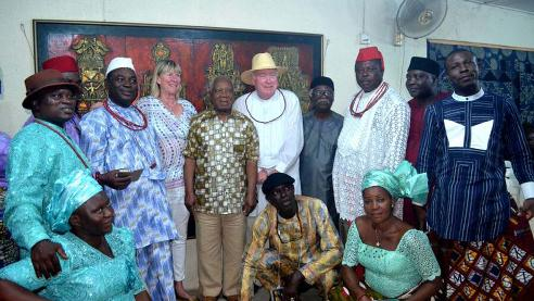 When American Takes 50 Years Documentation Of Urhobo Art And Culture To Ghana